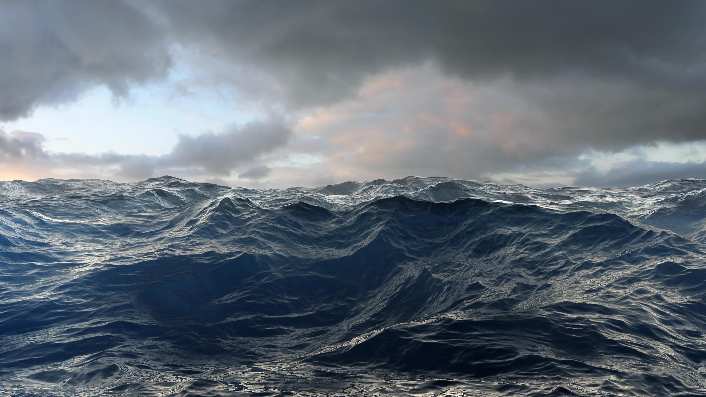 Gerhard+Mantz.+Rough+Seas.+Persönliches+Wagnis+Tinte+auf+Leinwand+140+x+270+cm+2009