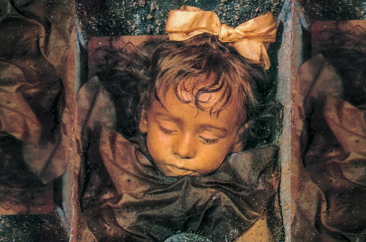 The Most Beautiful Child Mummy in the World! Rosalia